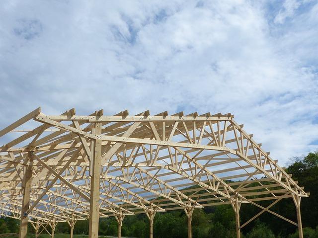 Les propriétés d'une charpente traditionnelle en bois