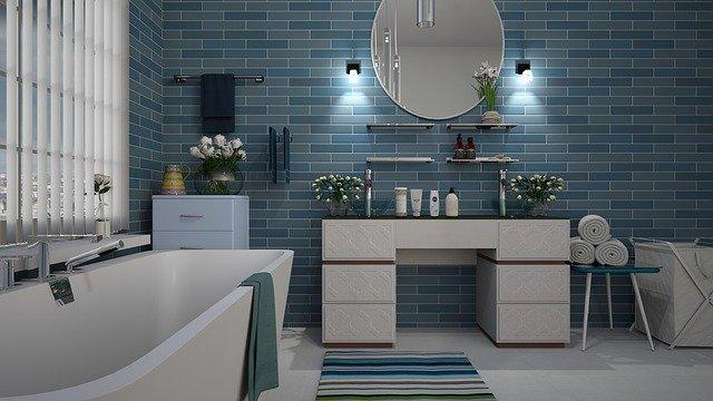 salle de bain antidérapant