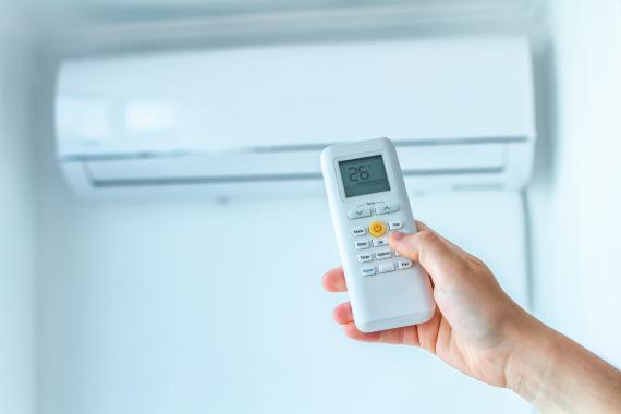 La consommation d'un climatiseur réversible