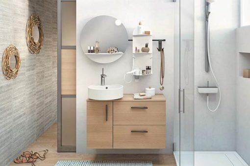 En quoi consiste l'aménagement intérieur de salle de bain?