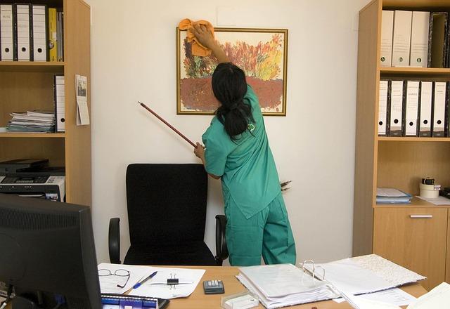 L'importance du matériel utilisé dans le nettoyage de bureau